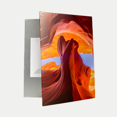 Brushed Aluminum Prints